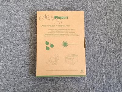 商品名: PANDUIT製 レーザープリンタ用回転ラベル